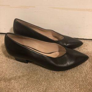 Nine West Black Low Heel Shoes
